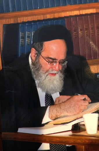 Picture of Rabbi Dovid Grossman.
