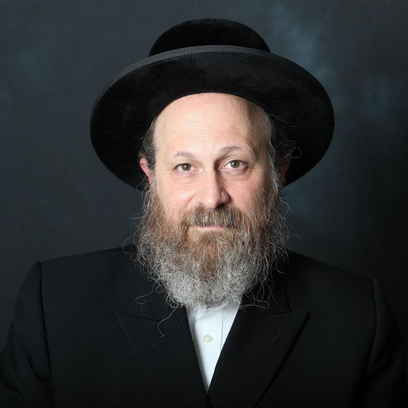 Picture of Rabbi Moshe Weinberger.