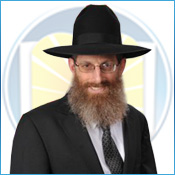 Picture of Rabbi Levi Langer.