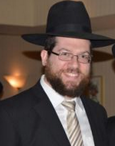 Picture of Rabbi Michoel Frank.